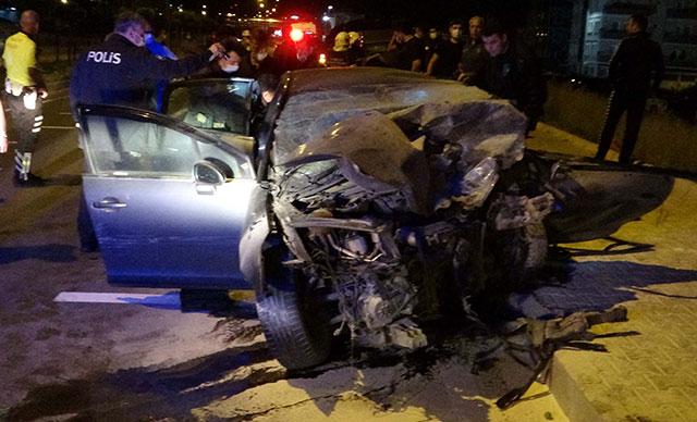 Korkunç kaza: 1 polis şehit, 1 astsubay hayatını kaybetti