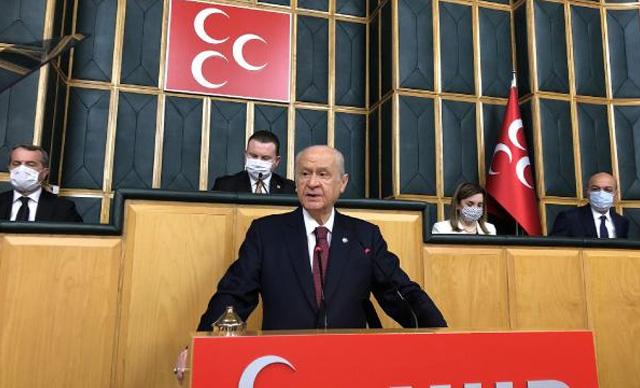 Bahçeli'den HDP'nin kapatılmasıyla ilgili açıklama