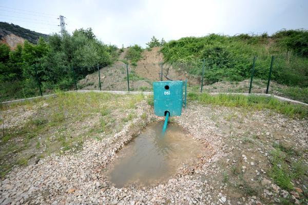 Bursa'da yeraltına can suyu projesi