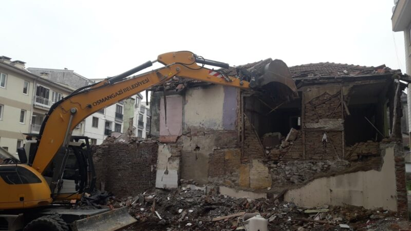 Osmangazi'de metruk bina kalmayacak