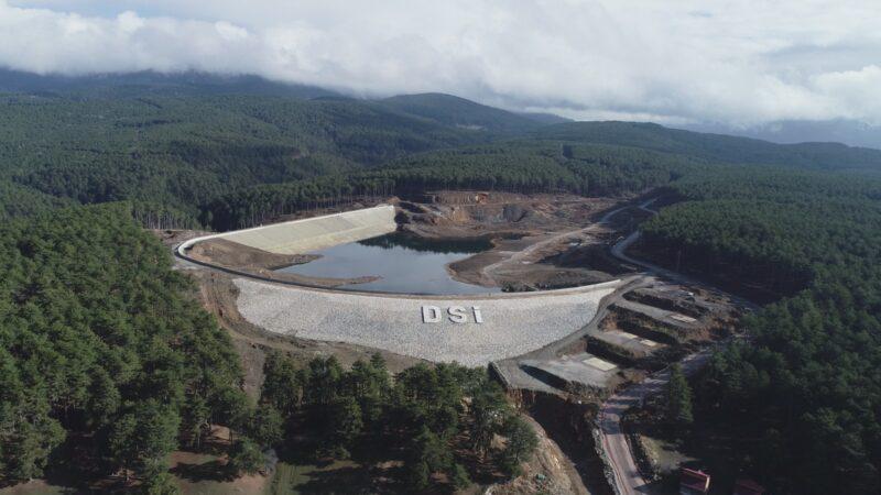 Kocayayla Göleti'nin sulama çalışmaları devam ediyor