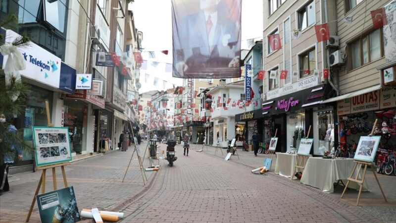 Dünya Çevre Günü Sergisi Uzun Sokak'ta izlenime açıldı