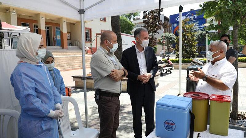 Başkan Taban'dan vatandaşlara aşı çağrısı