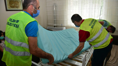 Yıldırım Belediyesi'nden hastalara yardım eli
