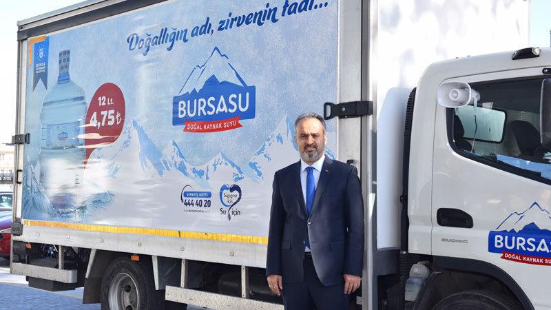 Bursa'da örnek dayanışma! Ücretsiz dağıtıldı