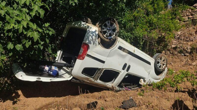Kınaya giderken kaza geçirdiler: Çok sayıda yaralı var