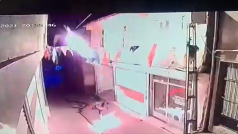 AK Parti İlçe Başkanlığına molotofkokteylli saldırı