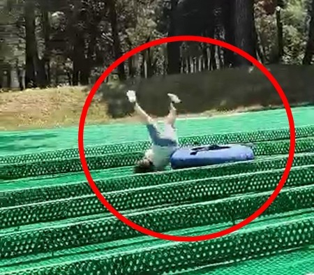 Bursa'daki 5 yaşındaki çocuk macera parkında ölümden böyle döndü