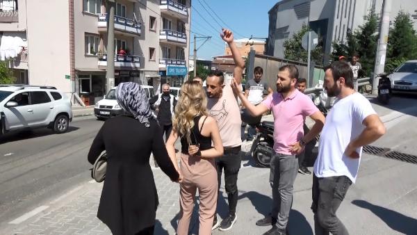 Bursa'da dehşet anları! Bıçak zoruyla taksiye bindirip…