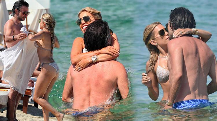 Denizde aşka geldiler!
