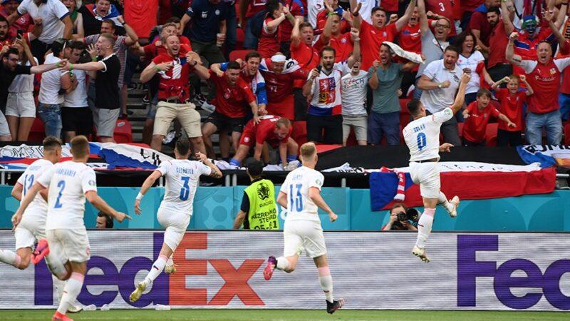 Hollanda'yı deviren Çekler çeyrek finalde