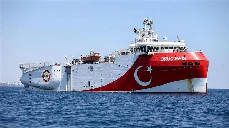 Oruç Reis Araştırma Gemisi için koruma gemisi hizmeti alınacak