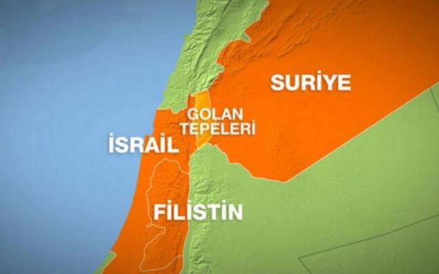 İsrail'in Suriye'ye saldırı düzenlediği iddia edildi!