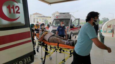Bursa'da ölümden döndü! Başında ve yüzünde…