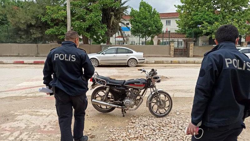 Bursa'da polisi şaşırtan olay