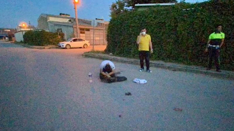 Yer: Bursa… Başında dakikalarca ağladı