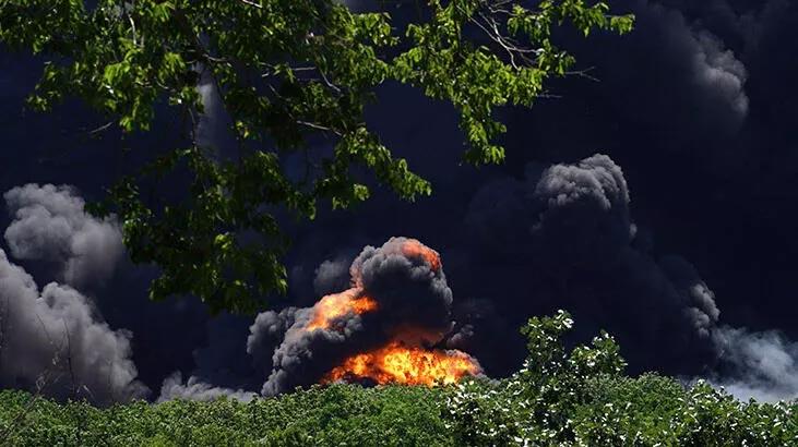 Kimya fabrikasında yangın! Durdurulamıyor…