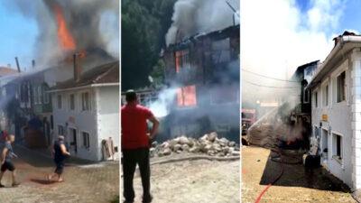 Bursa'da yangın faciası