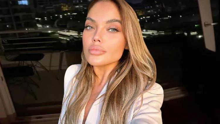 Ukraynalı model Anzelika Srabiants'ın son görüntüleri ortaya çıktı!