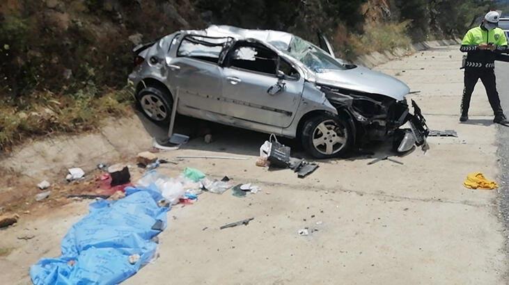 Kayalıklara çarpan araçtan fırladı 4 yaşındaki Emre'nin feci ölümü!