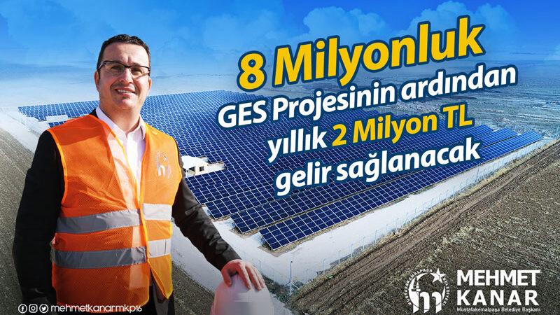 Güneş enerjisi ile yılda 2 milyon tasarruf sağlanacak