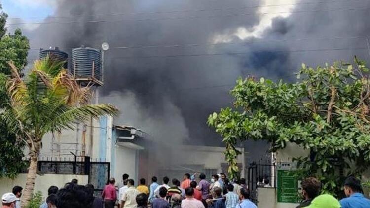 Kimya tesisinde yangın: 18 ölü