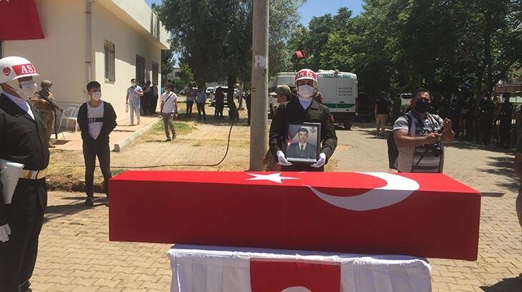 Şehit Uzman Çavuş Halit Altun, Mardin'de son yolculuğuna uğurlandı