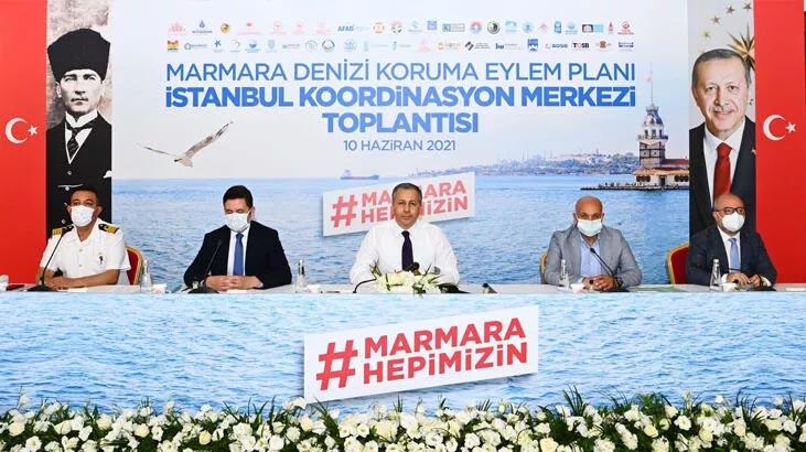 İstanbul Valiliği'nde müsilajla mücadele toplantısı