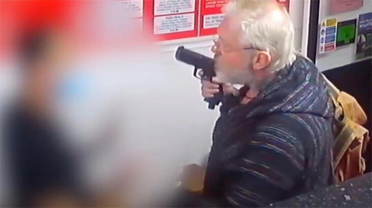 Kebapçıda silah çekti, hapsi boyladı!