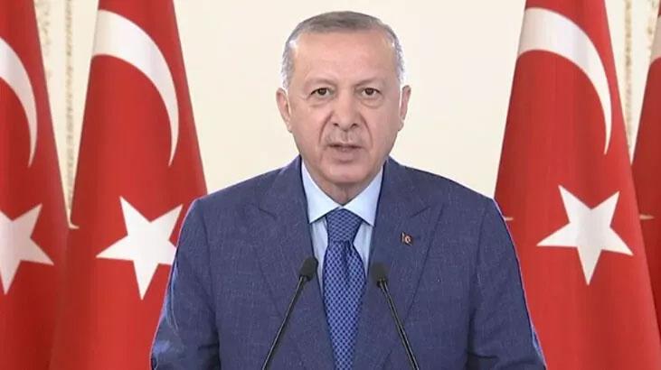 Cumhurbaşkanı Erdoğan'dan milli aşı vurgusu