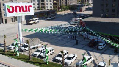 Onur Market yeni şubesi Prestij Park'ı açtı