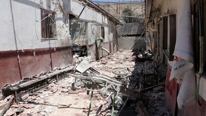 Hastaneyi vuran teröristlere TSK'dan cezalandırma atışı