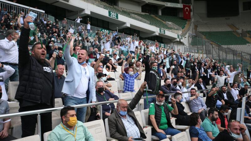 Bursaspor kongresinde önemli kararlar!