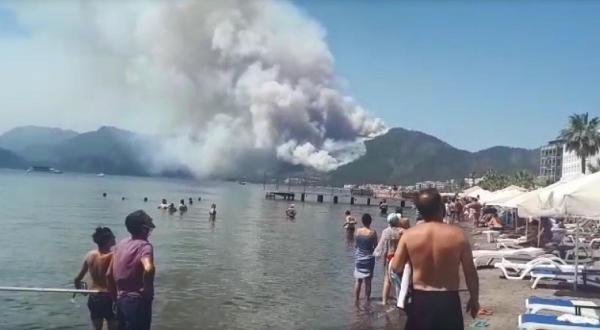 Turizm cennetinde orman yangını! Kahreden açıklama