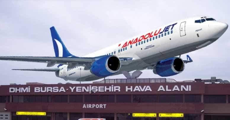Bursa hava ulaşımında sürpriz gelişme!
