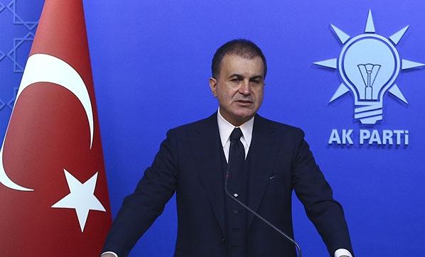 AK Parti Sözcüsü Çelik, Afrin'deki saldırıyı lanetledi