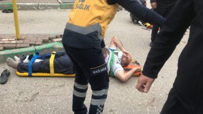 Bursa'da korkunç kaza! Otobüs durağına daldı…