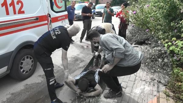 Yer: Bursa… Sokak ortasında dehşeti yaşadı