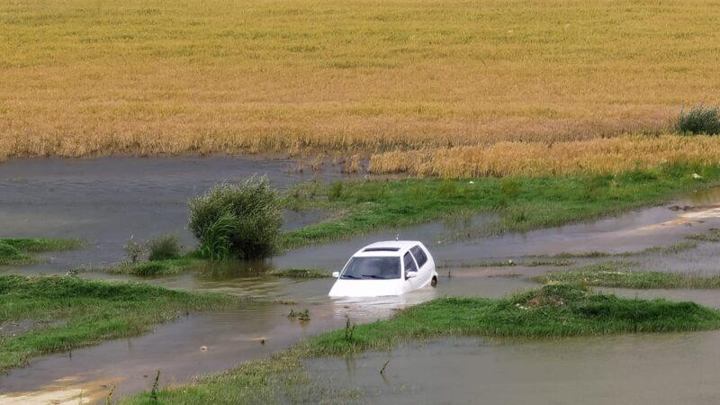 Yer: Bursa… Baraja daldı, otomobili bırakıp gitti