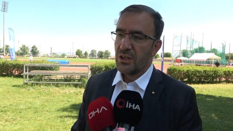 Başkan Fatih Çintimar: 'Olimpiyatlara 40 kota ile katılmak istiyoruz'