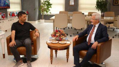 Kuşadası Belediye Başkanı'ndan Nilüfer'e ziyaret
