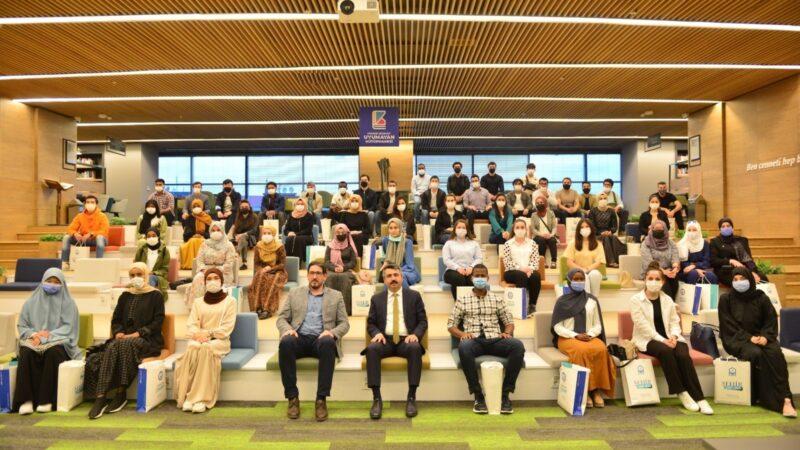 Başkan Yılmaz uluslararası öğrencilerle buluştu
