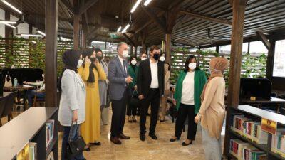 Başkan Taban'dan öğrencilere sürpriz ziyaret