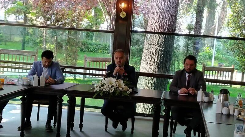 Başkan Aktaş'tan Bursaspor açıklaması; Benim şahıslarla işim olmaz!