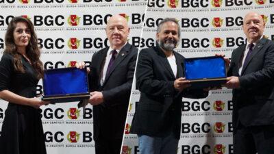 BGC başarı ödülleri sahiplerini buldu! Olay'a 3 ödül