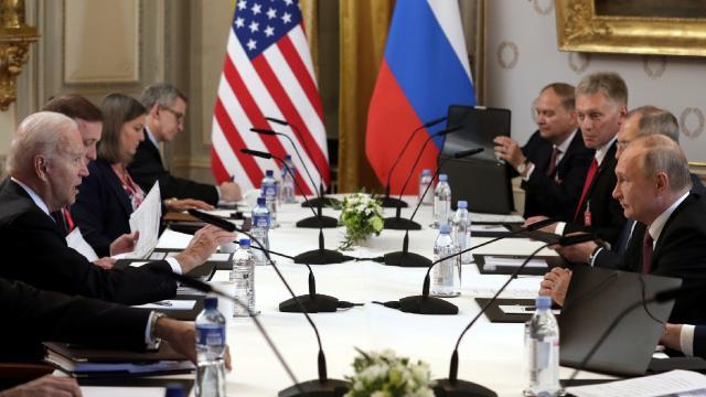 Ukrayna'dan 'Biden-Putin' değerlendirmesi: ABD geri döndü