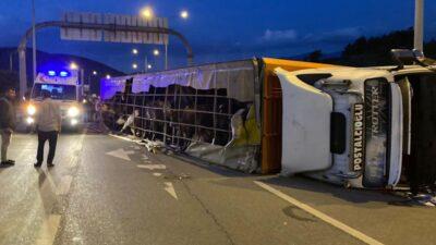 Bursa'da korkunç kaza: 1 ölü, 1'i bebek 2 ağır yaralı