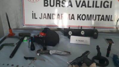 Bursa'da jandarmadan şok operasyon! Satamadan yakalandı