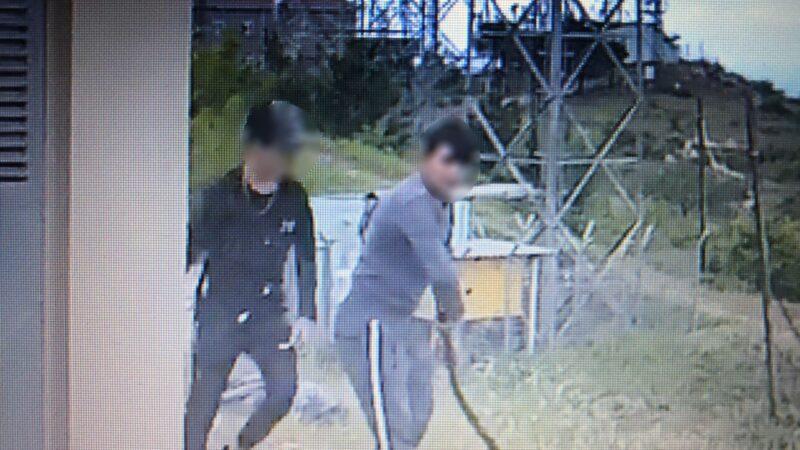 Bursa'da televizyon ve radyo vericilerine dadanan hırsızlar kameralara yakalandı