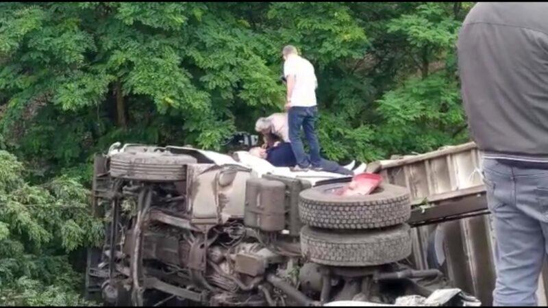 Bursa'da feci kaza! Virajı alamayınca…